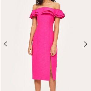 Raffle Midi Dress
